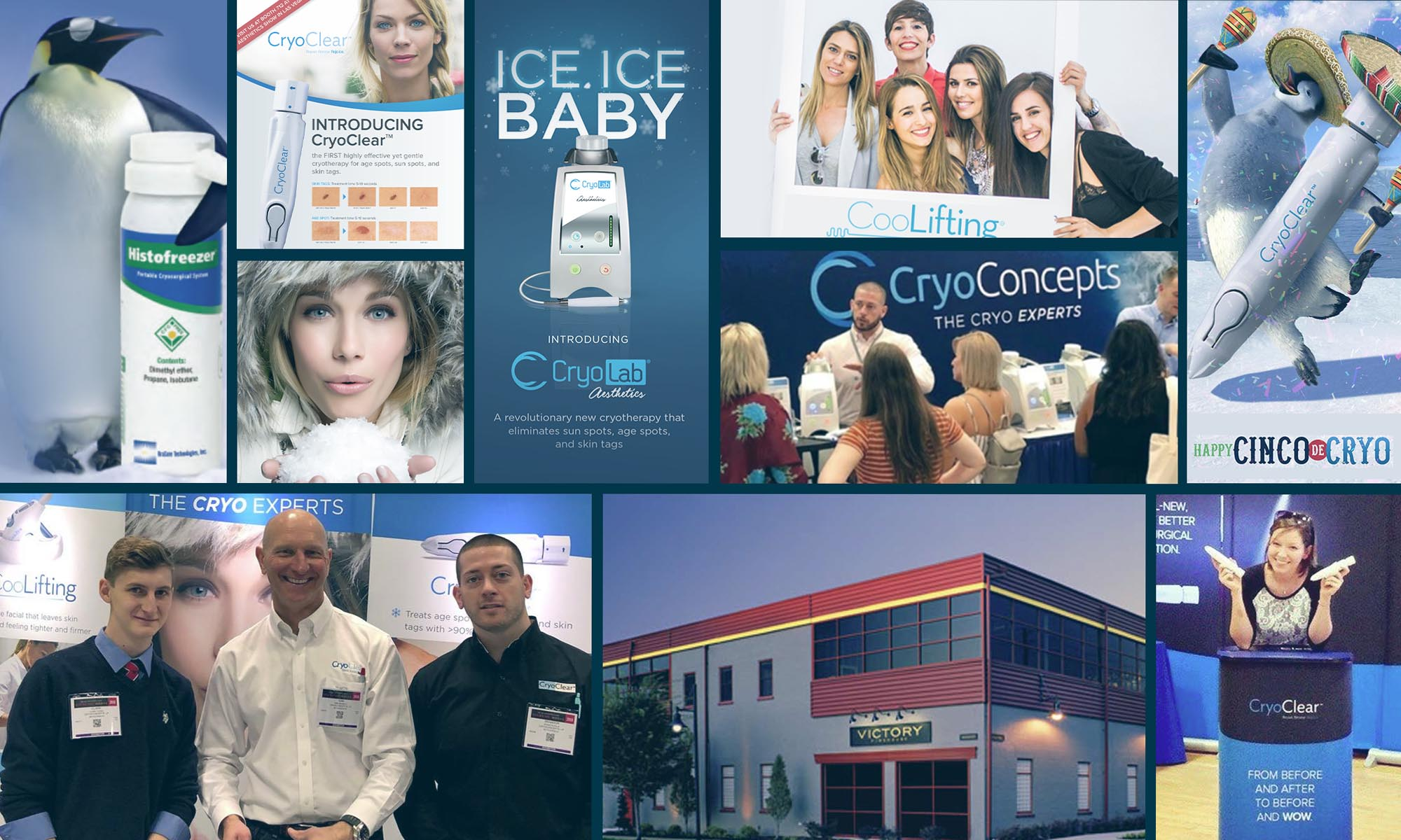 CryoConcepts cryo-based products for treating sun spots, age spots and skin tags