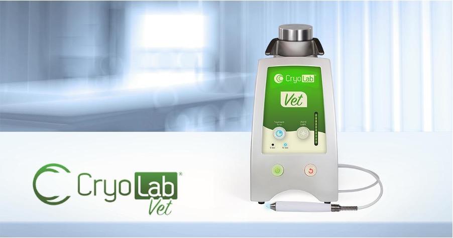 Hero shot of Veterinary Cryosurgery Device CryoLab Vet
